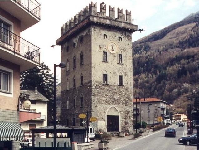 La torre Torelli a Tirano