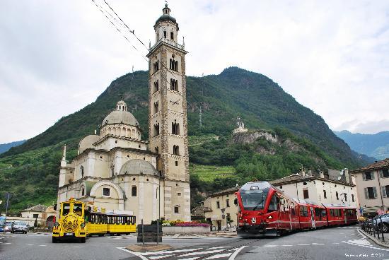 la basilica di Tirano