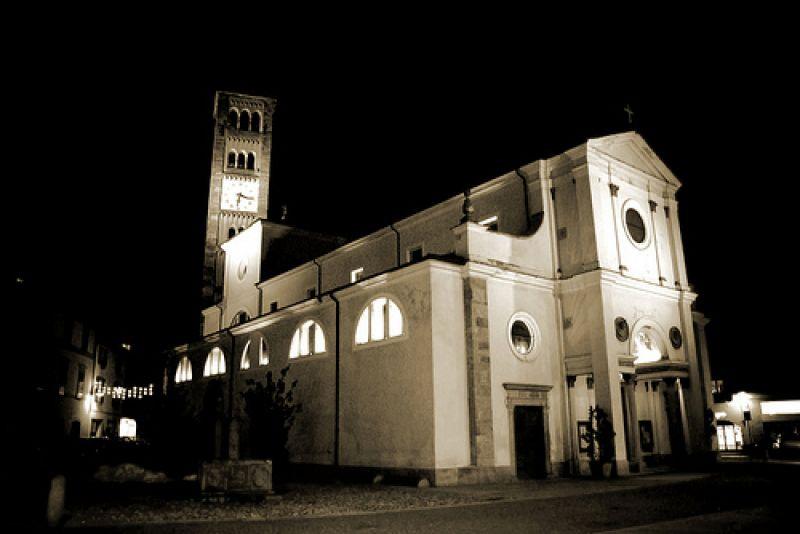 chiesa di san martino a Tirano