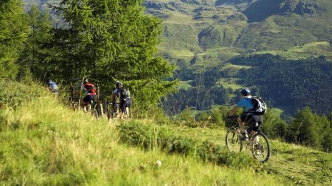 mountain bike valtellina