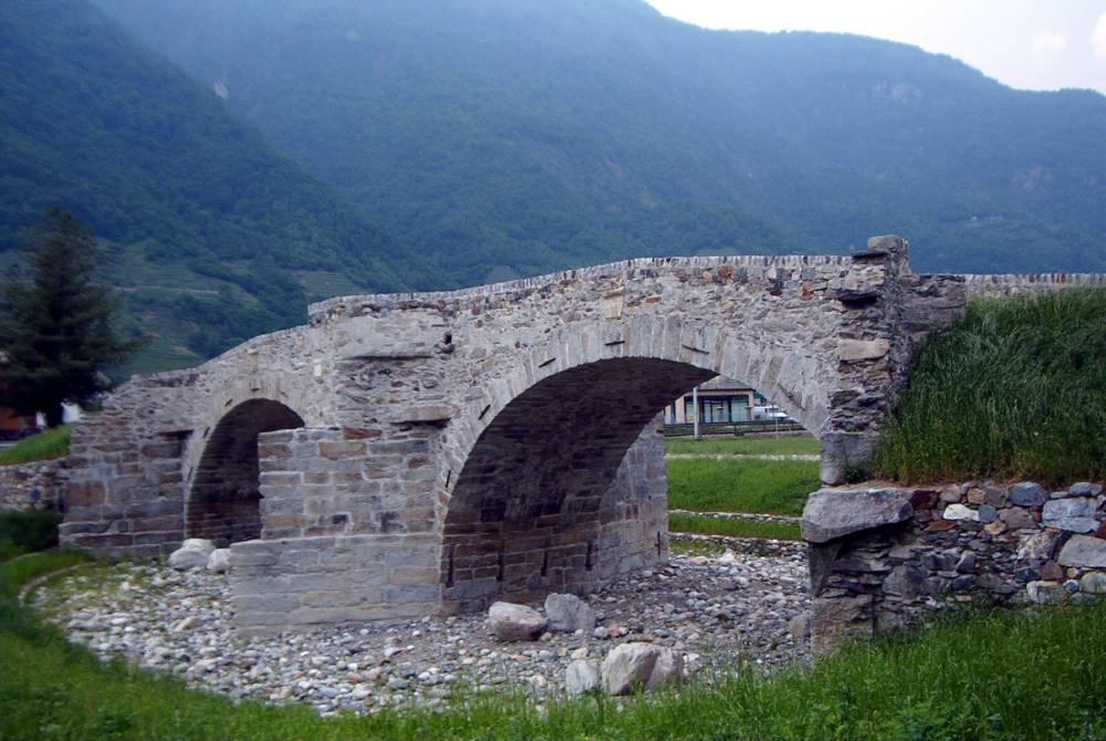 Villa di Tirano - ponte romano