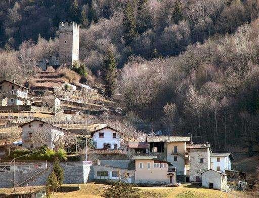 mazzo di valtellina vicino Tirano