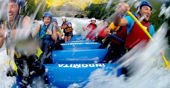 Valtellina con canoe e Rafting