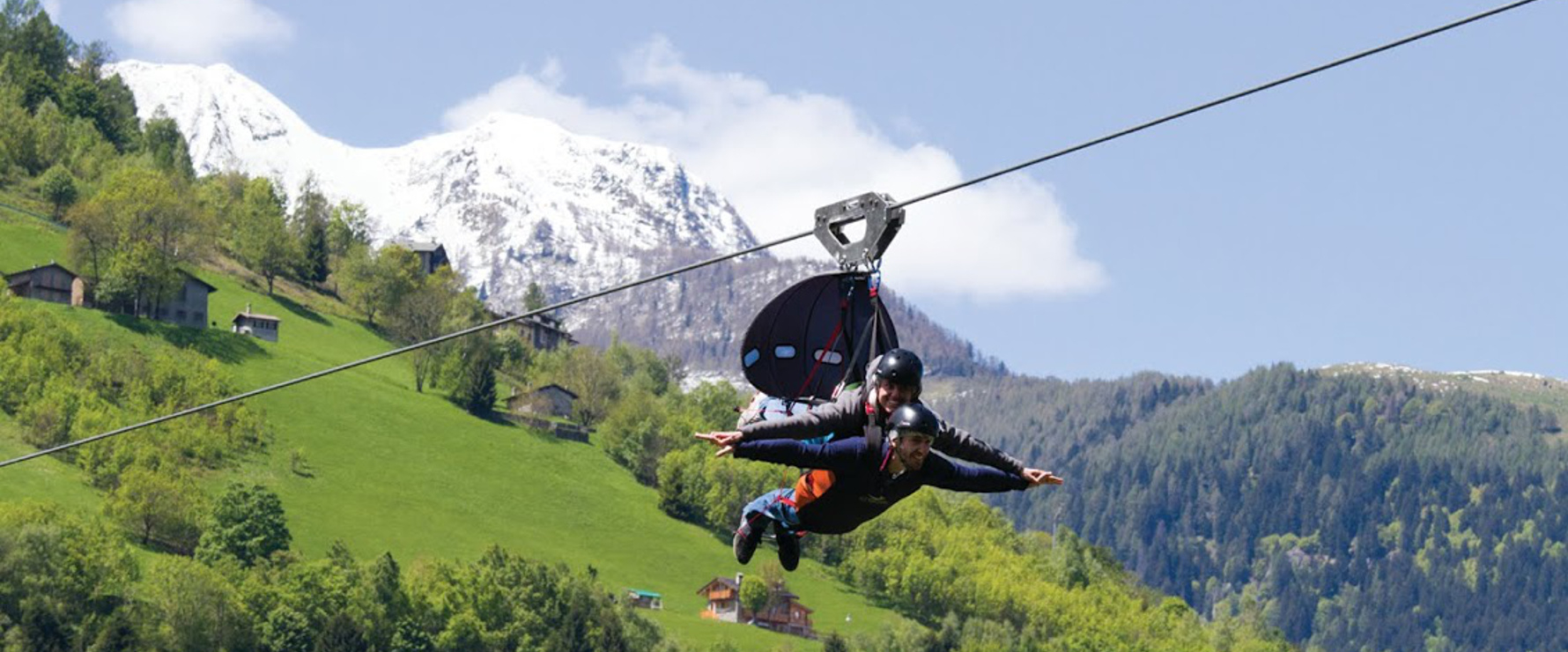 Fly emotion in Valtellina