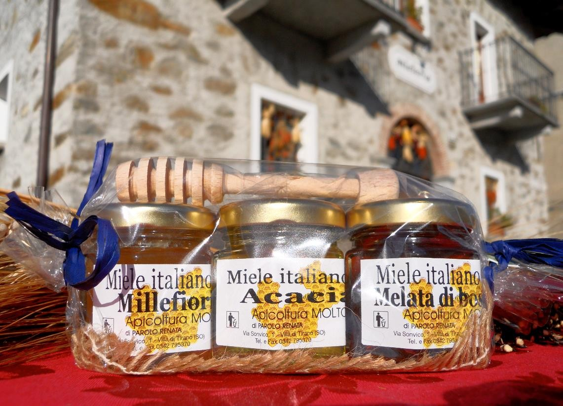 Miele in Valtellina